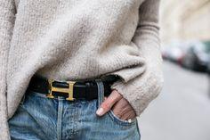 Hermes Vintage Belt