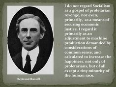 Bertrand Russell on Socialism