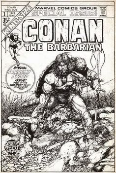 Cap'n's Comics: Conan King Size #1 by Barry Smith