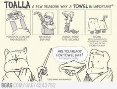 Towel day is coming...