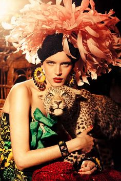 Tropical Chic, Vanity Fair Italy, March 2011