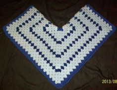 Royal and baby blue Receiving blanket hexagon shaped by dnjcrafts, $25.00