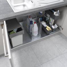 Rangement sous évier Cleaning Agent - 49.90€ CASTORAMA   Cuisine ...