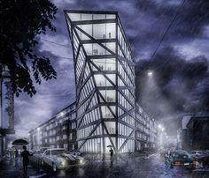 Office Building Studio, Architecture, Building, Travel, Arquitetura, Viajes, Buildings, Studios, Destinations