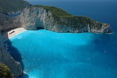 Smugglers Cove in Greece