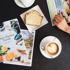 Coffee! sunday mornings and lazy day reads.