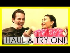 ▶ His & Her Clothing Haul & Try On! - YouTube