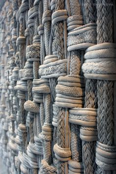Rope wall by Lucie