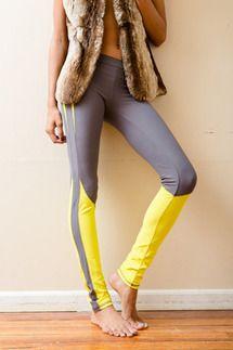 Gray Newton Leggings by Kimberly Ovitz