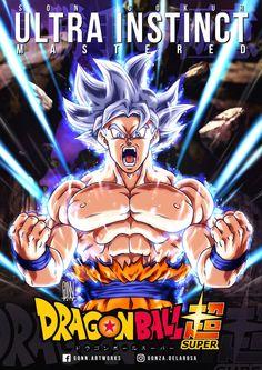 "Personal work, based on a previously finished commission. Fanart (from ""Dragon Ball Super"" animated series). Dragon Ball Z, Majin, Goku Ultra Instinct, Ssj3, Goku And Vegeta, Fanart, Akira, Epic Characters, Nerd Stuff"