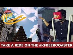 Take A Ride On The #KFBeerCoaster #kingfisher