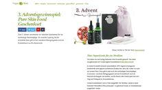 Gewinnt ein PURE SKIN FOOD Geschenkset im Wert von 77,90 Euro! Gewinnt bei Vegan Blatt ein Geschenkset ihrerNaturkosmetiklinie PURE SKIN FOOD im Wert von 77,90 Euro...