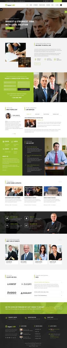 Digital Law is perfect WordPress #theme for #Attorney, Lawyer or Law Agency websites with 10+ header style download Now➝ https://themeforest.net/item/digital-law-attorney-lawyer-and-law-agency-wordpress-theme/15706323?ref=Datasata