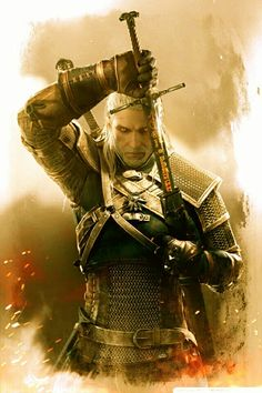 The Witcher 3 Geralt of Rivia Game of the year The Witcher 3, The Witcher Wild Hunt, Witcher 3 Geralt, Witcher Art, Ciri, Sword Fantasy, Fantasy Anime, Fantasy Art, Fantasy Weapons