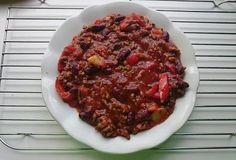 Chilli con carne Beef, Food, Red Peppers, Meat, Essen, Meals, Yemek, Eten, Steak