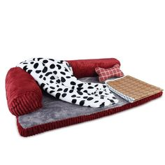 Petacc Dog Bed Detachable Dog Sofa Pet Crate Pad, Blanket, Pillow,Summer Sleeping Mat * Check out the image by visiting the link. (This is an affiliate link and I receive a commission for the sales) Cheap Dog Beds, Cool Dog Beds, Bolster Dog Bed, Bed Pillows, Indestructable Dog Bed, Dog Shock Collar, Dog Shower, Dog Diapers, 5 W