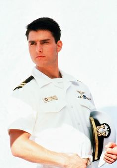 tom cruise in top gun!! =]  Im not sure if I love how he looks in this bc of him or bc of my love for a guy in uniform. ;) maybe a little of both haha