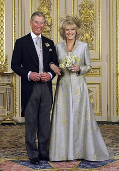 2005.  camilla parker bowles wedding | Both Prince Charles and Camilla Parker Bowles had their wedding day, a second marriage for each.
