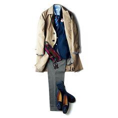 ファッション・ディレクターのジーン・クレールが毎月違ったテーマを選び、独自のファッションティップスとトレンド感を加えて、着こなし提案をするこのコーナー。ちょっとしたオシャレ心とジーンのスタイルテクニックでスマイルに満ちた毎日にしよう! Dapper, Gq Japan, Duster Coat, Mens Fashion, Blazer, Suits, My Style, Casual, How To Wear
