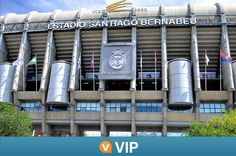 Viator VIP: Santiago Bernabeu Stadium Tour with Dinner in Madrid Gain exclusive entry to theSantiago Bernabéu Stadium on a 2-hour Viator VIP tour that can't be booked anywhere else. With a guide, you'll see off-limits areas like the presidential box, the changing rooms and the press room, and enjoy a 3-course dinner inside the stadium. Listen to informative commentary about the history of the iconic stadium and witness Real Madrid soccer team's glittering array of trophies in...
