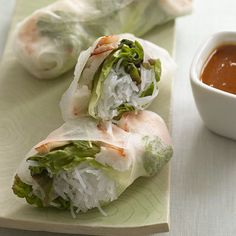 homemade spring rolls    these look so good :)  bc