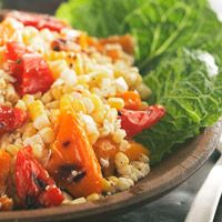 Grilled-Corn Salad -- perfect Summer side!!