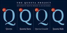 Download Font Questa Complete by The Questa Project