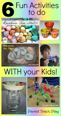 6 Fun Activities to Do with Your Kids - Parent Teach Play