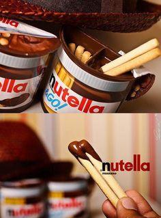 Nutella Sticks! Super lekker!