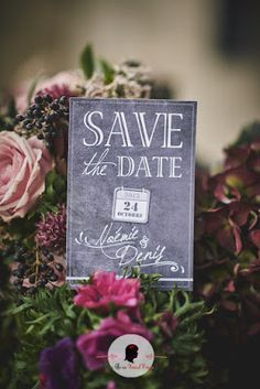 Shooting photo d'inspiration Save the date sur-mesure mariage industriel chic www.lafilleaunoeudrouge.fr