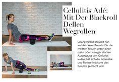 Cellulitis adé: Mit der Blackroll Dellen wegrollen