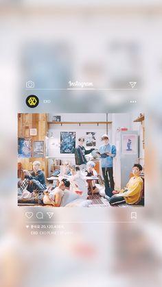 ♡ Chanyeol, Exo Kai, Kyungsoo, Daily Exo, Exo Ot12, Chanbaek, Exo Album, Exo Lockscreen, Kim Minseok
