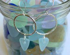 Sterling Silver Hawaiian coneshell hoop earrings by GirllovesSea