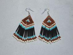 Native American Style Earrings by Beading4u on Etsy