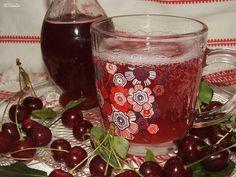 Katalin konyhája: Meggy ivólé vagy szörp Cherry Tart, Levek, Pint Glass, Cocktails, Ice Cream, Keto, Mugs, Coolers, Tableware