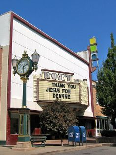 Roxy Theater and old clock, Bremerton, Washington by Paul McClure DC, via Flickr Ward Christmas Party, Evergreen State, Thank You Jesus, Old Clocks, Olympia, Places Ive Been, Bremerton Washington, Wander, Roxy
