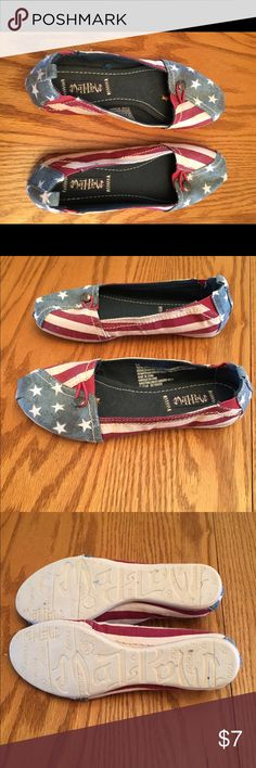 Shoes Stars and Stripes. Cute slip on shoes.nwot. Shoes Flats & Loafers