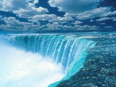 Niagra Falls, Ontario, Canada -- What I always imagined the edge of the [flat] world to look like.