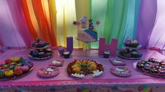 Hello kitty rainbow party