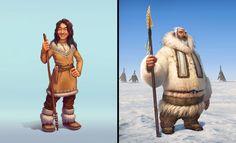 ArtStation - Vadim Bahryi - Собрал тут подборочку персонажей из нашей игры от разных художников Zelda, Fictional Characters, Art, Art Background, Kunst, Performing Arts, Fantasy Characters, Legend Of Zelda, Art Education Resources
