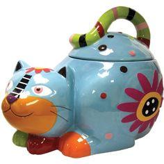 Westland Giftware Cozy Cat Ceramic Cookie Jar, 8.25-Inch Westland Giftware http://smile.amazon.com/dp/B00BJ0PFFA/ref=cm_sw_r_pi_dp_hCZkub1XY5W26