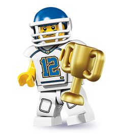 LEGO 8833-5: Football Player | Brickset: LEGO set guide and database
