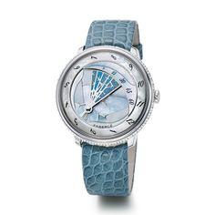 Fabergé Lady Compliquee Winter Timepiece #Fabergé #watches