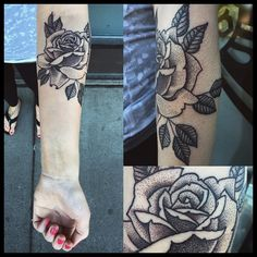 Fresh WTFDotworkTattoo Find Fresh from the Web Did this rose today all day on Jane! Thank you!! #dotwork #rose sydny.kragness WTFDotWorkTattoo