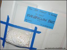 Marshmallow Fight 3-2
