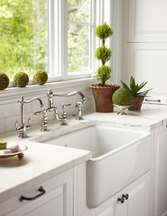 Farmhouse sink & top