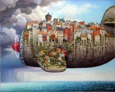 Jacek Yerka's Surrealism
