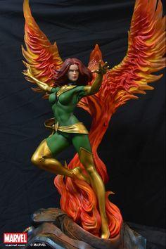 Jean Grey - Phoenix Statue (Comics Version) Statue By XM Studios