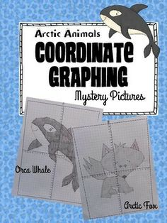 50% off until Sunday, January 4th, 12 p.m (CST).   Included in this set are two different arctic animal pictures:  Mystery Picture #1: Orca Whale  Mystery Picture #2: Arctic Fox   Each picture comes with a blank 4-quadrant coordinate paper and the coordinates.   Both graphs include 4 quadrants (positive and negative numbers) and ONLY coordinates that are whole numbers and decimals ending in 0.5.
