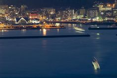night watch of sakurajima (across the water from japan's most active volcano - kagoshima)...Jeff Epp